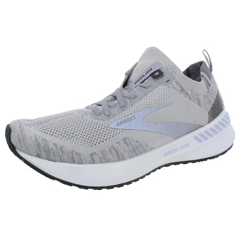 Brooks Womens Bedlam 3 Running Shoes Casual Lace-Up - White