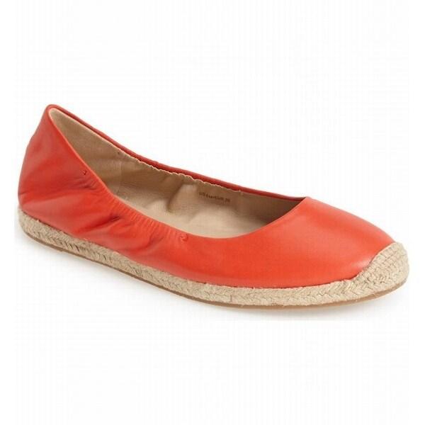 Via Spiga NEW Orange Womens Shoes Size 7M Arnelia Espadrille Flat