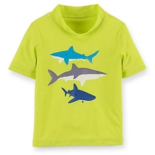 Carter's Baby Boys' Shark Rashguard - 18 Months - Multicolored