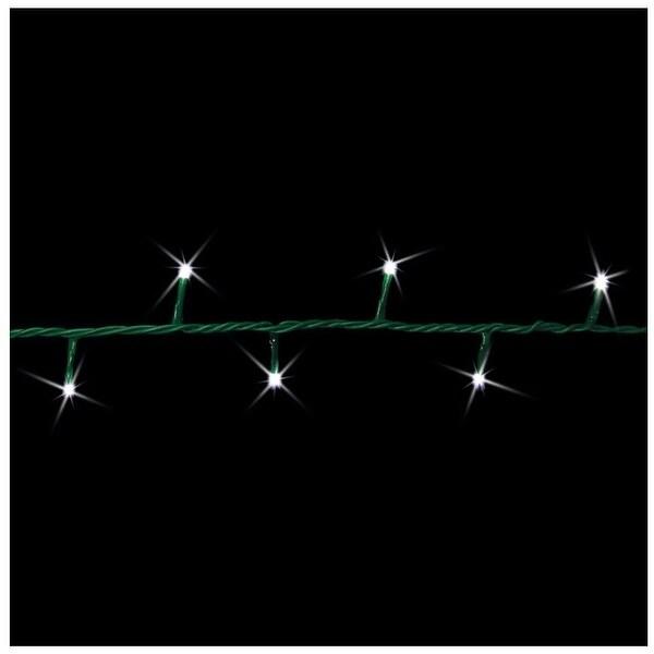 Shop Celebrations 9S100C-3M18F LED 3mm Garland-Style Christmas Light Set,  100 Lights - 16.5' - Free Shipping On Orders Over $45 - Overstock.com -  23582686 - Shop Celebrations 9S100C-3M18F LED 3mm Garland-Style Christmas Light