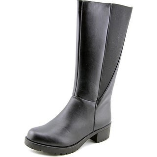 Unlisted Kenneth Cole Lory Gore Women Round Toe Synthetic Black Mid Calf Boot