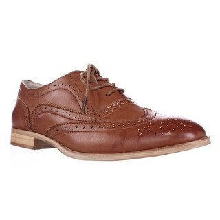 Wanted Babe Lace Up Oxfords, Tan
