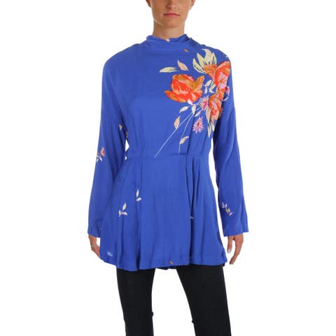 80ed10c823d2d5 Buy Free People Long Sleeve Shirts Online at Overstock   Our Best ...