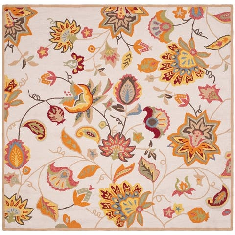 Safavieh Handmade Four Seasons Lia Floral Rug
