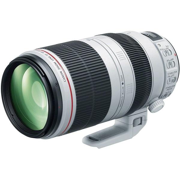 Canon EF 100-400mm f/4.5-5.6L IS II USM Lens (International Model) - WHITE