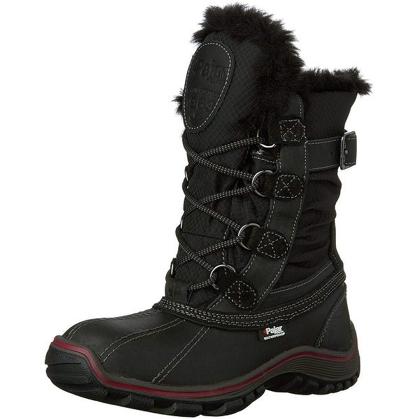 Pajar CANADA Womens Adelaide Leather Closed Toe Ankle Cold Weather Boots