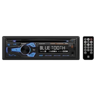 Dual Cd Player With Bluetooth Usb For Ipod/Iphone Remote