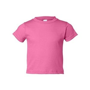 Toddler Cotton Jersey Tee - Raspberry - 3T