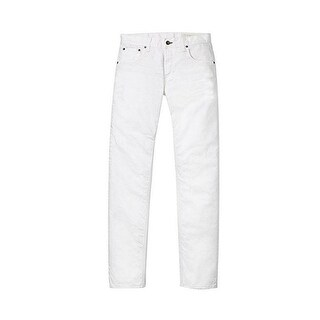 Rag & Bone Men's Standard Issue White Skinny Jeans
