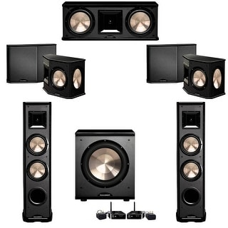 BIC Acoustech 5.1 System with 2 PL-89 II Speakers, PL-200 Wireless Subwoofer