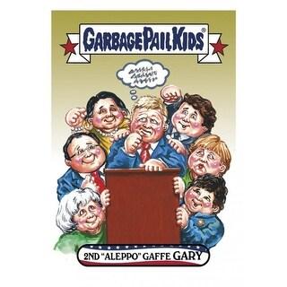 GPK: Disg-Race To The White House: 2nd Aleppo Gaffe Gary, Card 8 - multi