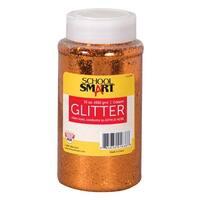 School Smart Craft Glitter, 1 Pound Jar, Copper