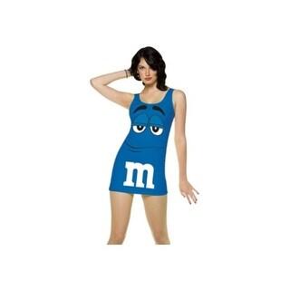 Womens Blue M&M Costume