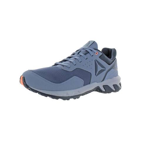 Reebok Womens Ridgerider Trail 4.0 Trail Running Shoes Low Top Lifestyle - Denim/Indigo/Navy/Sunglow