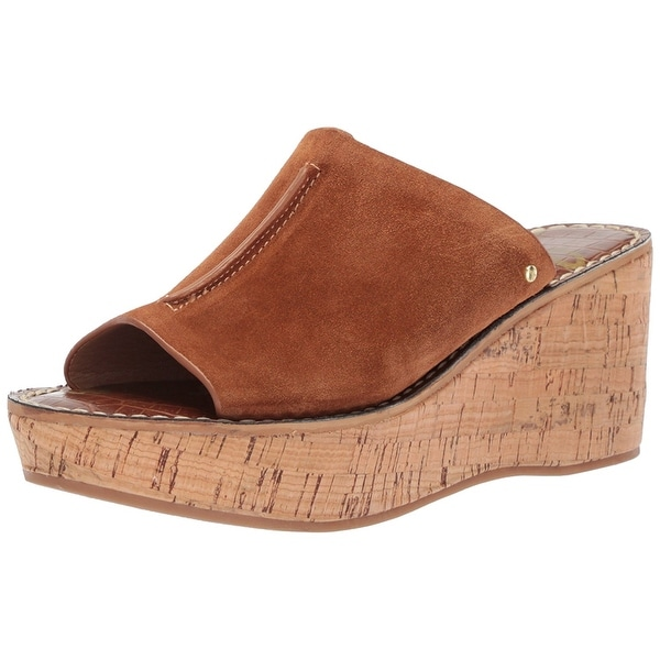 dfc0c3b7802 Shop Sam Edelman Women s Ranger Wedge Sandal - 9.5 - Free Shipping ...