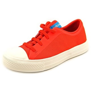 People Footwear The Phillips Youth Round Toe Synthetic Red Sneakers