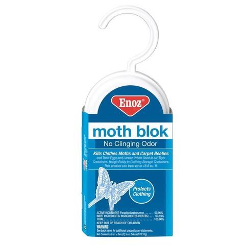Enoz 493.6T Moth Blok Bag, 6 Oz