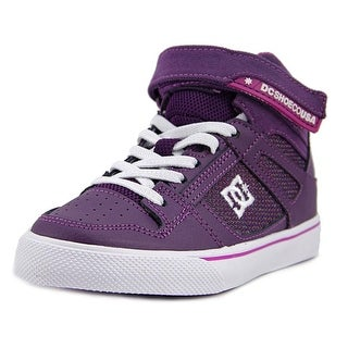 DC Shoes Spartan High EV Round Toe Canvas Skate Shoe