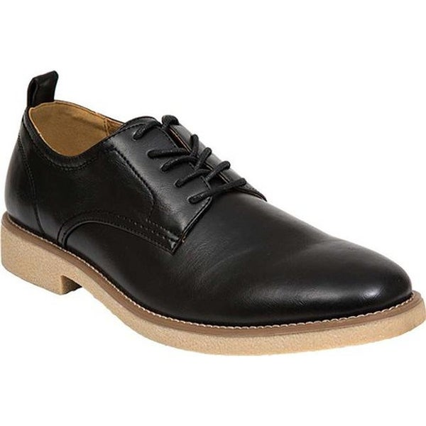 Deer Stags Men's Highland Oxford Black Simulated Leather