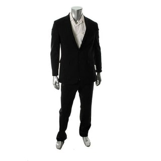 Kenneth Cole New York Mens Wool Notch Collar Two-Button Suit - 42L