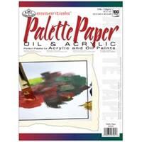 350708 Essentials Artist Paper Pad 9 in. x 12 in. -Palette-100 Sheets