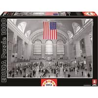 Grand Central Station 1000 Piece Puzzle, New York City by John N. Hansen