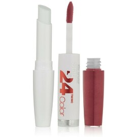 Maybelline New York Super Stay 24 2-Step Lipcolor, Reliable Raspberry [010] 1 ea