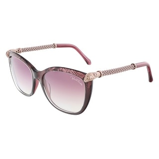 Roberto Cavalli RC978S/S 83Y TALITHA Violet Rose Gold Square sunglasses - violet rose gold - 55-17-135