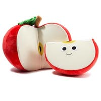 "Yummy World 10"" Medium Plush: Ally & Sally Red Apple - multi"