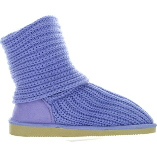 Mark And Maddux Womens Tom-05 Yarn-Knitted Button Boots (More options available)