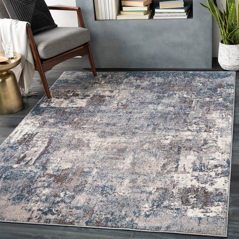 Asuman Modern Abstract Area Rug