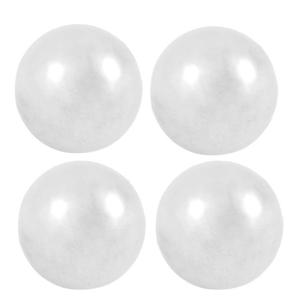 Unique Bargains Stainless Steel 25mm Dia Christmas Ornament Hollow Balls Decor 4 Pcs
