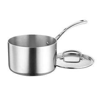 Link to Cuisinart FCT193-18 French Classic Tri-Ply Stainless 3-Quart Saucepan with Cover Similar Items in Cookware