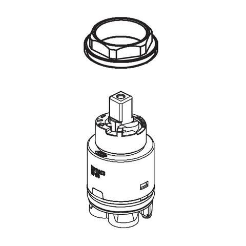 Delta RP34322 Single Hole Ceramic Cartridge