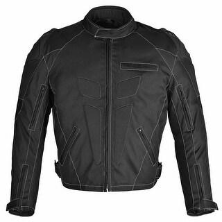 Men Motorcycle Four Season Textile Race Jacket CE Protection