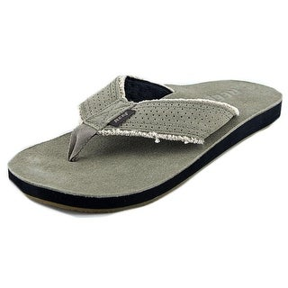Reef Surf And Saddle Open Toe Leather Thong Sandal