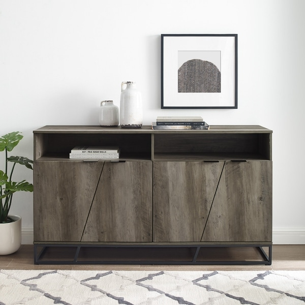 Carbon Loft 58-inch Angled Door Sideboard. Opens flyout.