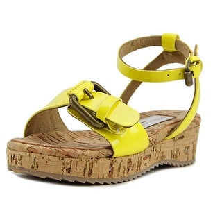 Stella McCartney Linda Toddler Open Toe Synthetic Yellow Sandals