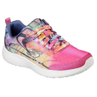 Skechers 12734 MULT Women's BURST-LIFE IN COLOR Sneaker