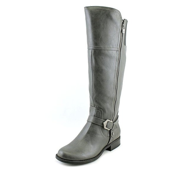 Hailee WIDE CALF Round Toe Over Knee Fashion Boots