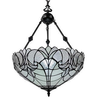 Link to Tiffany Style Hanging Pendant Lamp 18 in Wide AM263HL18B Amora Lighting Similar Items in Pendant Lights