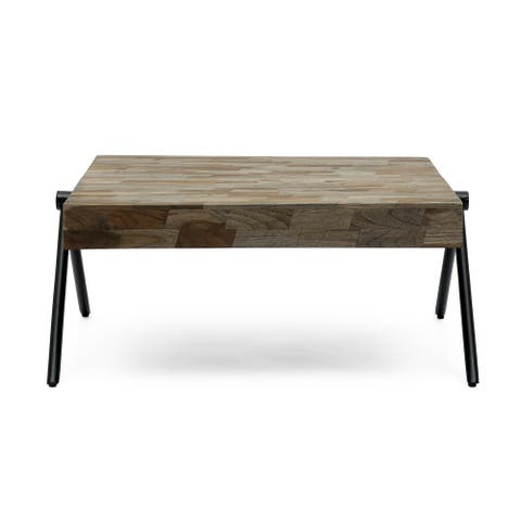 Gurley Mango Wood Coffee Table by Christopher Knight Home