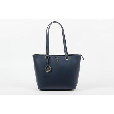 Shop VERSACE 1969 V ITALIA Leather Tote Bag - Free Shipping Today -  Overstock.com - 15997018 68588150dd215