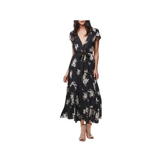 Free People Womens All I Got Maxi Dress Floral Full-Length