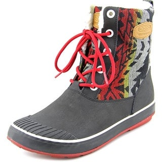 Keen Elsa Boot WP Women Round Toe Canvas Multi Color Winter Boot