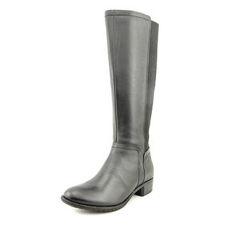 Hush Puppies Lindy Chamber Round Toe Leather Knee High Boot