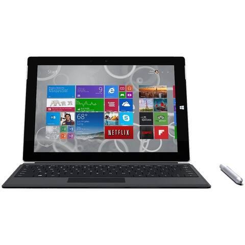 "Microsoft Surface 3 Atom 4GB 64GB SSD 10.8"" Win 10 Pro (Refurbished)"