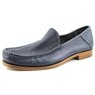 Calvin Klein Danby Moc Toe Leather Loafer