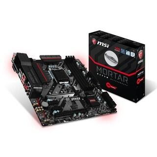 Msi Gaming Intel B250 Lga 1151 Ddr4 Hdmi Vr Ready Micro-Atx Motherboard (B250m Mortar)