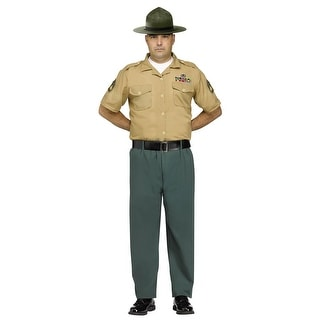 Adult Marine Drill Instructor Costume